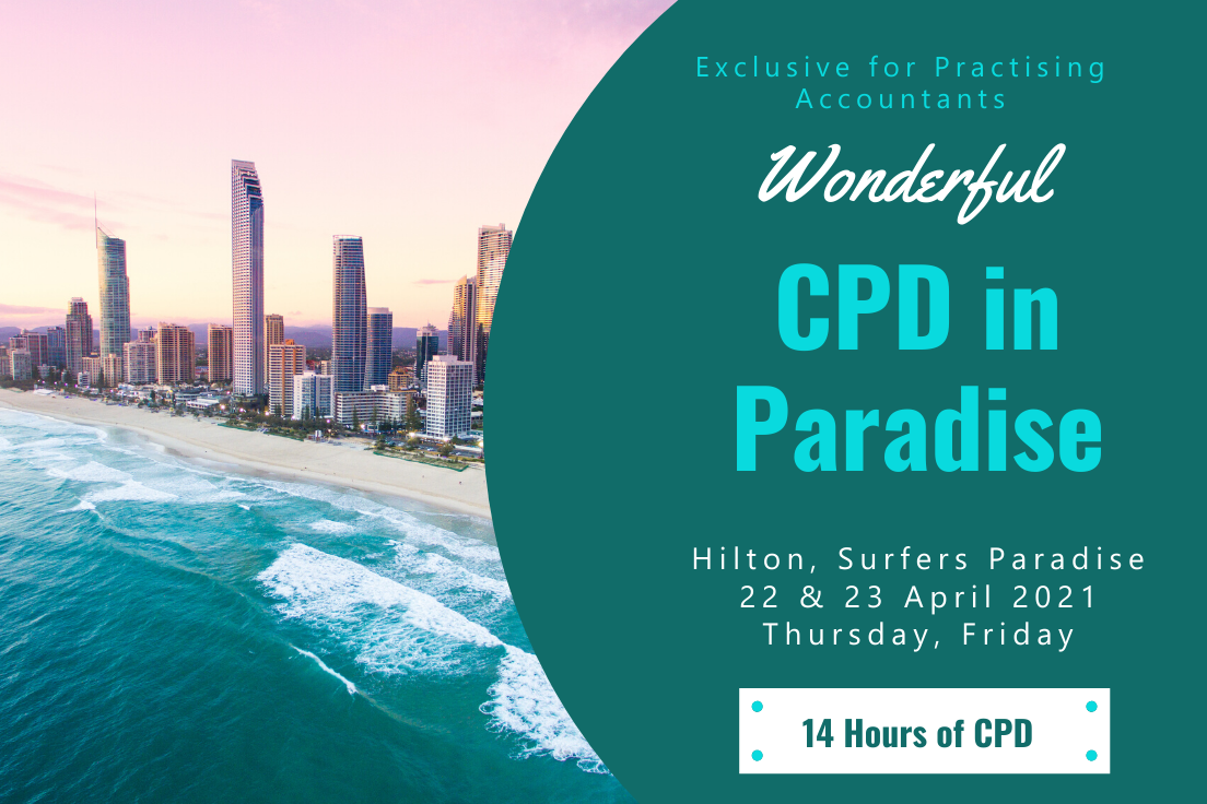 CPD in Paradise 2021, Exclusive for Practising Accountants